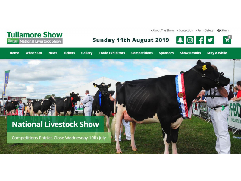 Agricultural Show Software