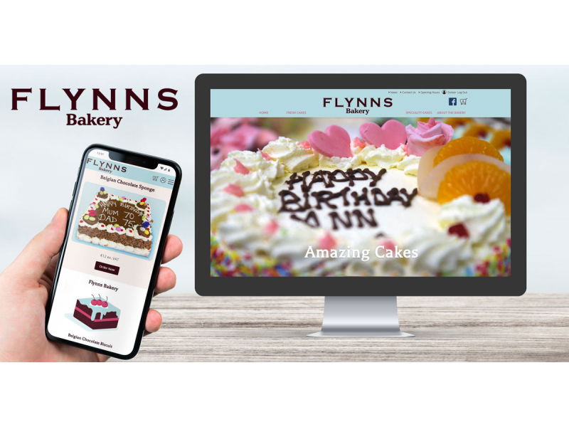Bakery Website Design