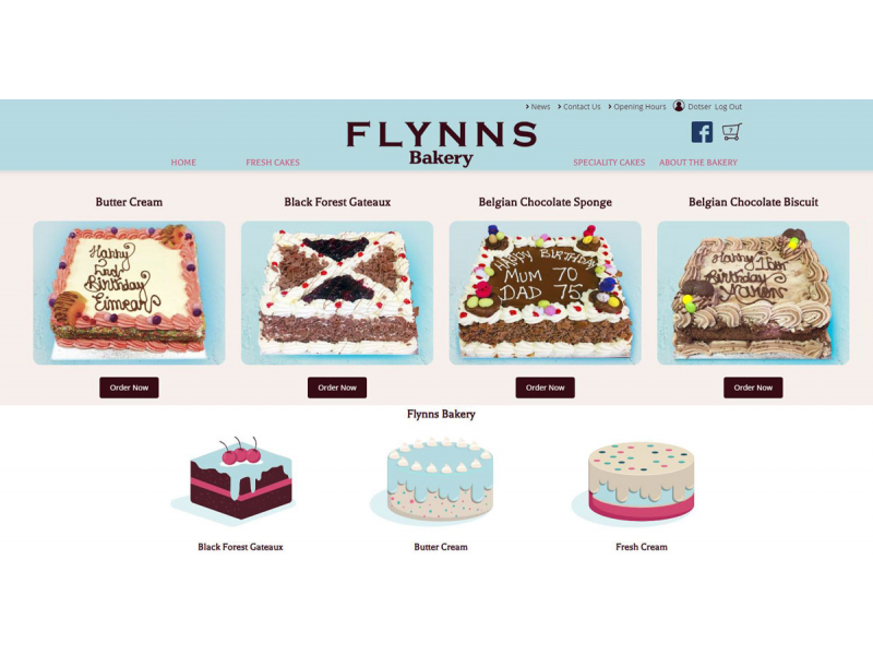 Cakes eCommerce