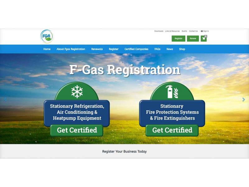 FGas Registration
